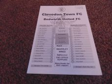 Clevedon Town v Bedworth United, 2005/06 [jan]